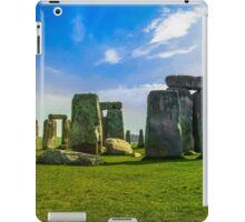 Stonehenge in Wiltshire England iPad Case/Skin