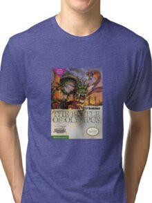 The Battle of Olympus Tri-blend T-Shirt