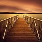 Sunset Dock by Jessica Jenney