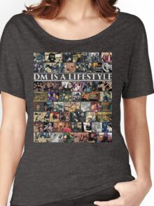 Photo Collage (DM is a Lifestyle) Women's Relaxed Fit T-Shirt
