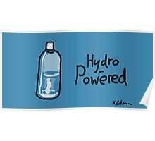 Hydro-Powered Poster