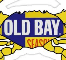 Old Bay Crab Sticker