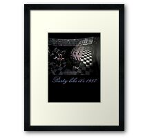 Party like It's 1987 Framed Print