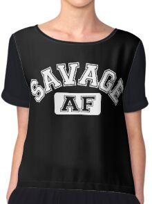 SAVAGE - AF Chiffon Top
