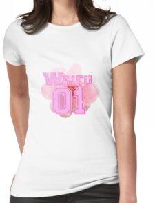 Waifu Sakura Womens Fitted T-Shirt