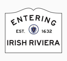 Entering the Irish Riviera - Marshfield Massachusetts  Baby Tee