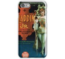 Performing Arts Posters The American Extravaganza Co in Aladdin Jr a tale of a wonderful lamp 0002 iPhone Case/Skin