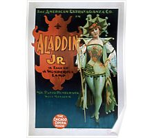 Performing Arts Posters The American Extravaganza Co in Aladdin Jr a tale of a wonderful lamp 0002 Poster