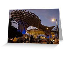Seville - Metropol Parasol Greeting Card