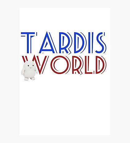 Tardis World team Photographic Print
