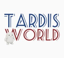 Tardis World team One Piece - Short Sleeve