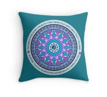 Comes a time.. Throw Pillow