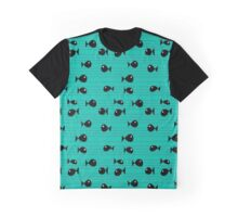 Fishes and reeds Graphic T-Shirt