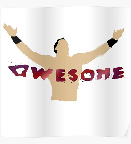 AWESOME | The Miz Poster