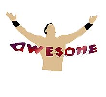 AWESOME | The Miz Photographic Print