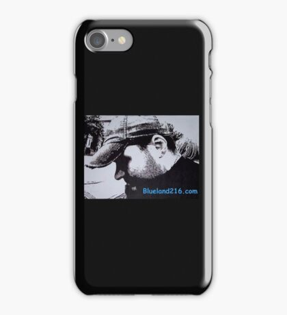 Pen and ink self portrait iPhone Case/Skin