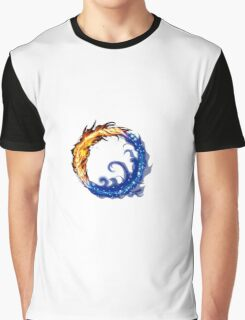 fire water ring Graphic T-Shirt