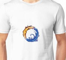 fire water ring Unisex T-Shirt