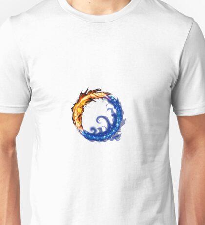 fire water ring Unisex T-Shirt