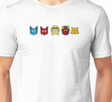 Paragon Path Live! Season 1 Characters Unisex T-Shirt