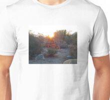 SUNRISE OVER THE DESERT Unisex T-Shirt