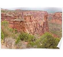 Colorado Red Rock Country Poster