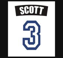 One Tree Hill Lucas Scott Jersey Number Kids Tee
