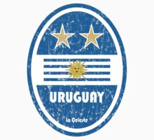 World Cup Football 4/8 - Uruguay (Distressed) by madeofthoughts