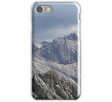 Karwendel range in the Bavarian Alps iPhone Case/Skin