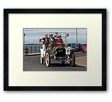 Vintage Car - in West Kirby - July 2014 Framed Print
