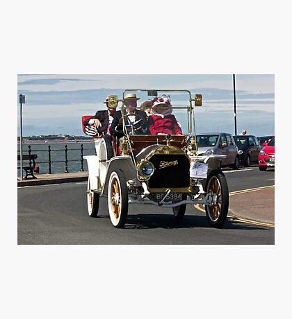 Vintage Car - in West Kirby - July 2014 Photographic Print