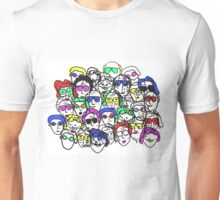 People on People (Color) Unisex T-Shirt