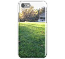 Evening at Stark iPhone Case/Skin