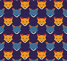 Foxes by Mistra