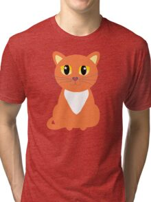 Only Orange Marmalade Cat Tri-blend T-Shirt