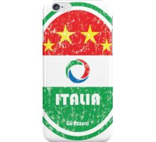 World Cup Football 2/8 - Italia (Distressed) iPhone Case/Skin
