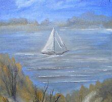 A Morning Sail by tusitalo