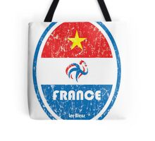 World Cup Football 7/8 - France (Distressed) Tote Bag