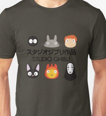 Studio Ghibli Chibi's Unisex T-Shirt