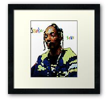 RAP / HIP-HOP: Snoop Doggy Dogg Framed Print