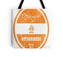 World Cup Football - Netherlands (Distressed) Tote Bag