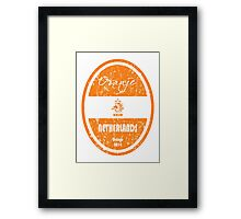 World Cup Football - Netherlands (Distressed) Framed Print
