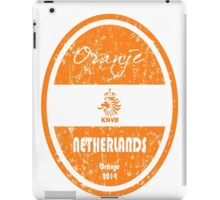 World Cup Football - Netherlands (Distressed) iPad Case/Skin