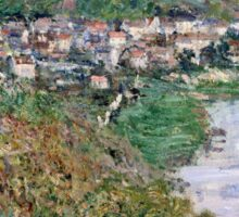 Claude Monet - View of Vetheuil (1880)  Sticker