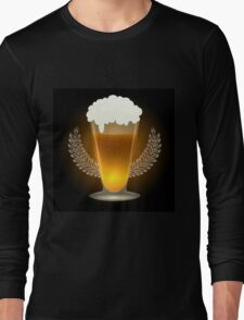 Premium Beer Emblem Long Sleeve T-Shirt