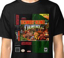 Donkey Kong Country: Box art Classic T-Shirt