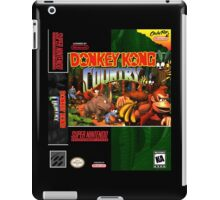 Donkey Kong Country: Box art iPad Case/Skin