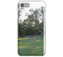 Evening at Stark (2) iPhone Case/Skin