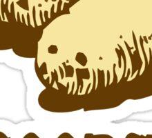 Scoopski Potatoes! Sticker