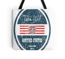 World Cup Football - United States Tote Bag